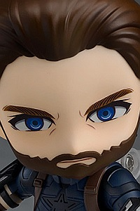 GOOD SMILE COMPANY (GSC) Avengers: Infinity War Nendoroid Captain America Infinity Edition (2nd Production Run)