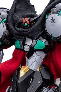 SEN-TI-NEL RIOBOT Getter Robo DEVOLUTION -Last 3 Minutes in Space- Black Getter Action Figure