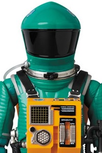 MedicomToy MAFEX No.089 SPACE SUIT GREEN Ver. Action Figure
