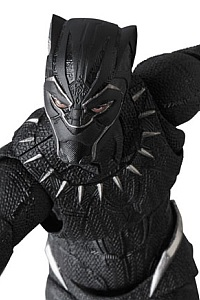 MedicomToy MAFEX No.091 BLACK PANTHER Action Figure (2nd Production Run)