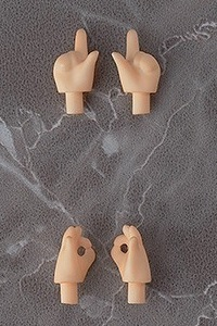 GOOD SMILE COMPANY (GSC) Nendoroid Doll Hand Parts Set peach