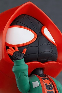 GOOD SMILE COMPANY (GSC) Spider-Man: Into the Spider-Verse Nendoroid Miles Morales Spider Suit Edition DX Ver.