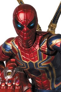 MedicomToy MAFEX No.121 IRON SPIDER (ENDGAME Ver.) Action Figure