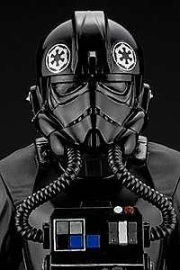 KOTOBUKIYA ARTFX+ Star Wars: A New Hope TIE Fighter Pilot 1/10 PVC Figure