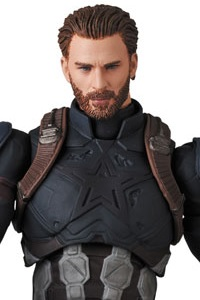 MedicomToy MAFEX No.122 CAPTAIN AMERICA (INFINITY WAR Ver.) Action Figure