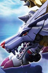 BANDAI SPIRITS Figure-rise Standard Metal Garurumon (AMPLIFIED) Plastic Kit