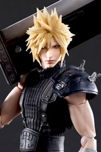 SQUARE ENIX Final Fantasy VII Remake PLAY ARTS KAI Cloud Strife Version 2 Action Figure