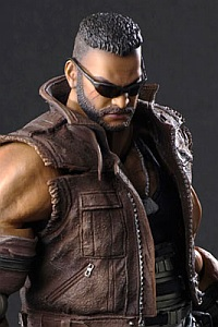 SQUARE ENIX Final Fantasy VII Remake PLAY ARTS KAI Barret Wallace Version 2 Action Figure