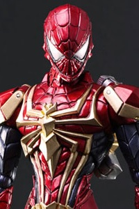 SQUARE ENIX MARVEL UNIVERSE VARIANT BRING ARTS DESIGNED BY TETSUYA NOMURA Spider-Man Action Figure