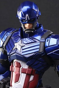 SQUARE ENIX MARVEL UNIVERSE VARIANT BRING ARTS DESIGNED BY TETSUYA NOMURA Captain America Action Figure