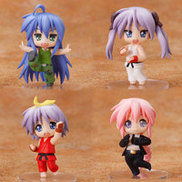 GOOD SMILE COMPANY (GSC) Nendoroid Petit Lucky Star X Street Fighter Set