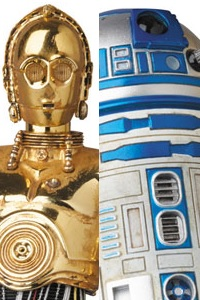 MedicomToy MAFEX No.012 Star Wars C-3PO & R2-D2 Action Figure