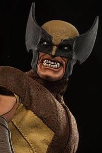 SIDESHOW Sixth Scale Marvel Comics #003 Wolverine 1/6 Action Figure