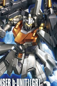 Gundam Unicorn HGUC 1/144 RGZ-95C ReZEL Type-C (Defenser b-Unit) (GR)