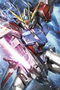 Gundam Build Fighters MG 1/100 Build Strike Gundam Full Package