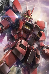 Gundam Build Fighters MG 1/100 PF-78-3A Gundam Amazing Red Warrior
