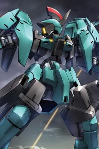 Gundam IRON-BLOODED ORPHANS HG 1/144 EB-06r Graze Ritter (Carta Unit)