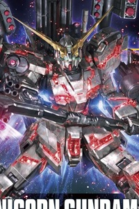 Gundam Unicorn HGUC 1/144 RX-0 Full Armor Unicorn Gundam (Destroy Mode / Red Color Ver.)