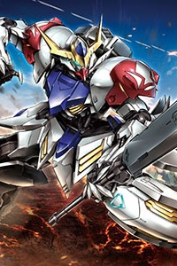 Gundam IRON-BLOODED ORPHANS HG 1/144 ASW-G-08 Gundam Barbatos Lupus