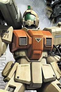 Bandai The 08th MS Team MG 1/100 RGM-79[G] GM Ground Type