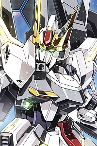 Bandai Gundam Build Fighters HG 1/144 Lunagazer Gundam