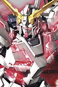 Gundam Unicorn HGUC 1/144 RX-0 Unicorn Gundam Destroy Mode Titanium Finish