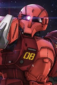 Gundam THE ORIGIN HG 1/144 MS-05S Zaku I (Char Aznable Custom)